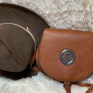 Sam and Hadley saddle style purse